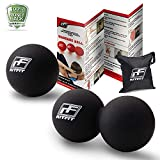 Product review for RitFit Massage Ball Set(1 Peanut Massage Ball&1 Lacrosse Ball) for Myofascial Release, Trigger Point Therapy, Muscle Knots, and Yoga Therapy, Bonus Free Carry Bag and Workout Guide