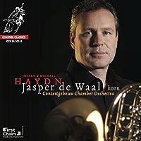 J. & J.M. Haydn : Oeuvres pour cor et orchestre de chambre. De Waal.