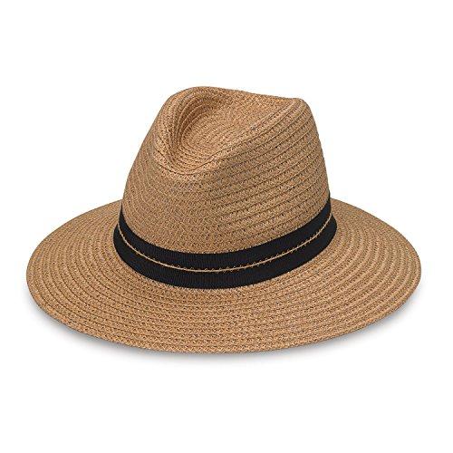 Braid Xl Brim Hat - Wallaroo Hat Company Men's Blake - Modern Classic, Natural Large/Extra Large