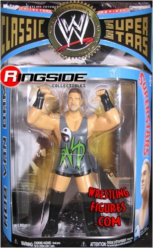 WWE Wrestling Classic Superstars Series 24 Action Figure Rob Van Dam (LJN Style) by Jakks Pacific