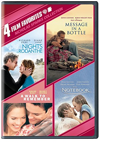 4 Film Favorites: Nicholas Sparks (Message in a Bottle, Nights in Rodanthe, The Notebook, A Walk to Remember)