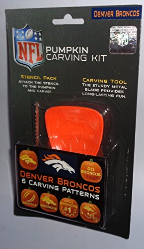 NFL Denver Broncos Pumpkin Carving Kit