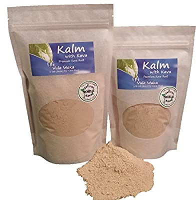 Kava Root - Farm Fresh Fiji Vula Waka 100% Noble Kava (1/2 LB)