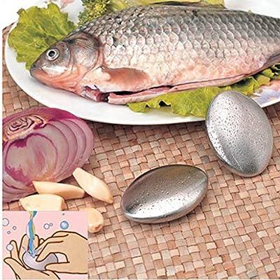 Maayun Acero Inoxidable Jabón Barra Cocina Removedor Olor El ajo ...