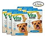 PACK OF 6 - Vita Bone Small Dog Biscuits 24 oz. Box
