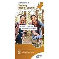 Radwanderkarte 20 Limburg midden en zuid, Maasplasssen & Geuldal 1:50000 (ANWB fietskaart (20))