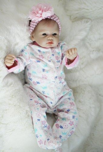 "OtardDolls reborn doll 22"" reborn baby doll lifelike soft vinyl doll children gifts"