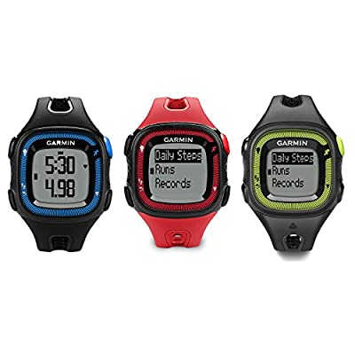 Garmin Forerunner 15 GPS Watch and Daily Activity Fitness Tracker (Certified Refurbished)