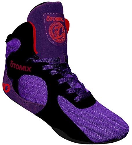 Otomix Men's Purple Stingray Escape Bodybuilding & Wrestling Shoes (Men's 9) by Otomix