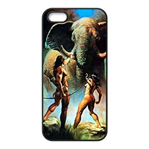 iPhone 4 4s Cell Phone Case Black Tarzan Generic Fashion Phone Case Cover CZOIEQWMXN15211
