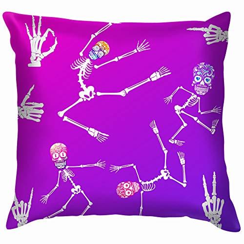 Set Hapy Skeleton Celebrities Science Soft Cotton Linen