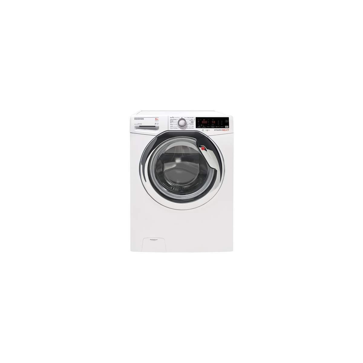 Hoover DWOA 58AHC3-30 Independiente Carga frontal 8kg 1500RPM A+++ ...