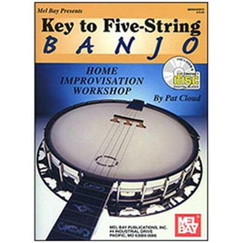 mel-bay-key-to-five-string-banjo-home-improvisation-workshop-book-cd