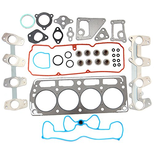 cciyu Replacement fit for 1998-2003 Chevrolet S10 Cavalier GMC Sonoma Sunfire Hombre 2.2L Head Gasket Set ()