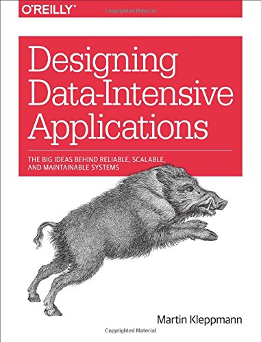 Book cover from Designing Data-Intensive Applications: The Big Ideas Behind Reliable, Scalable, and Maintainable Systems by Martin Kleppmann