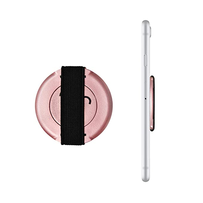 Loopgrip 360 Fingerhalterung Rosegold   Handyhalter Hand   Handy Halter Finger   Smartphone Halterung   Smartphone Fingerhalt