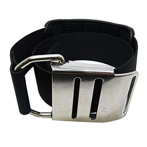 Palantic Tech Diving Tank Cam Band with Stainless Steel Buckle for Harness System