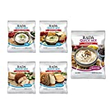 dry cheese - Rada Cheeseball And Dip Kit – Includes Onion Dill, Spinach Artichoke, Cookie Dough Dips As Well As Sweet Pepper and Garden Vegetable Cheeseball Flavor Packets