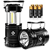 Etekcity Portable LED Camping Lantern and Flashlight with AA Batteries, Survival Light for Camping, Hiking, Reading,...