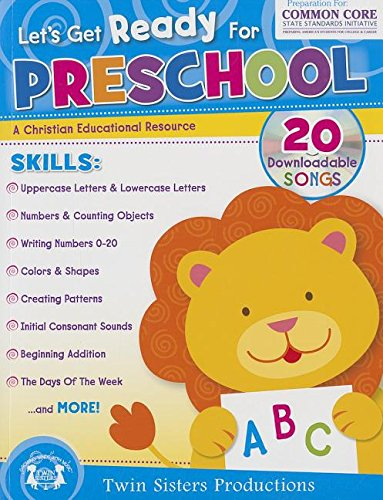 Let\'s Get Ready for Preschool Christian Bind-Up Workbook (Let\'s Get ...