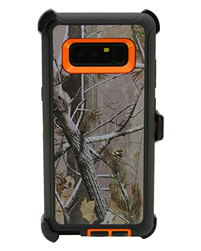 WallSkiN Turtle Series Holster Case for Galaxy Note 8 (6.3