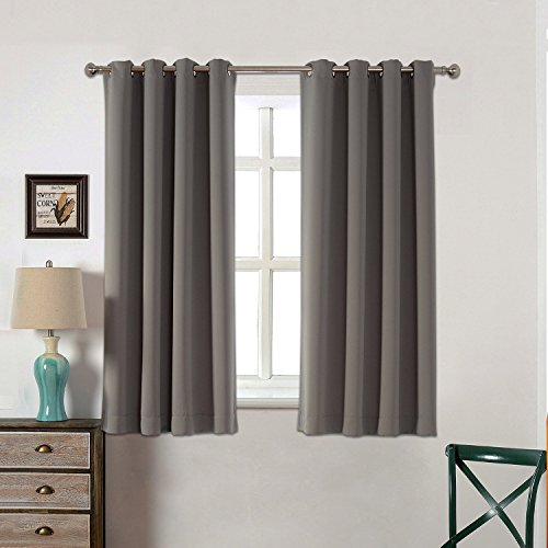 AMAZLINEN Blackout Curtains Thermal Insulated