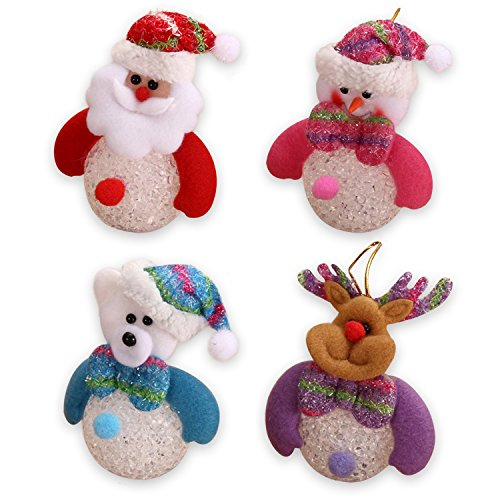 9 Pcs Christmas Tree Hanging Ornament Xmas Christmas Decorations - 8