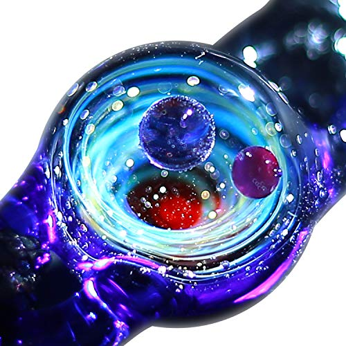 Price comparison product image Pavaruni Original Galaxy Pendant Bracelet,  Universe Glass Accessories,  Space Cosmos Design, Birthday (Venus)