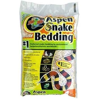 Amazon Com Zoo Med Aspen Snake Bedding 24 Quarts Pet