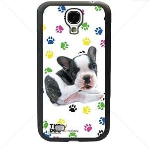 Cute Puppy Dogs For Samsung Galaxy S4 SIV I9500 TPU Case Cover (Black) by icecream design