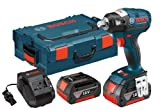 Bosch IWBH182-01L 18-volt Brushless 1/2-Inch Pin Detent Impact Wrench with 4.0Ah Batteries, Charger and L-Boxx-2