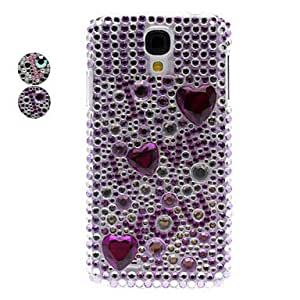 Rhinestone Decorated I Love U Pattern Hard Case for Samsung Galaxy S4 I9500 (Assorted Color) --- COLOR:Pink