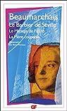 Le Barbier de Séville - Le Mariage de Figaro - La Mère coupable par Beaumarchais