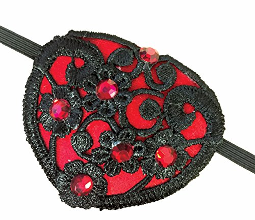 Forum Steampunk Lace Eye Patch One Size Fits Most ()