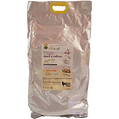 Furesh Dry Dog Food w/Premium Duck & Salmon, 11 lbs (Skin & Coat)