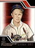 2008 Topps Triple Threads Baseball Card #135 Red Schoendienst Near Mint/Mint