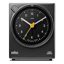 Braun BNC004BKBK Classic Analog Quartz Alarm Clock