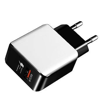 Demino Cargador de Carga rápida Universal Plug USB de la UE ...