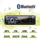 POMILE Auto Stereo Radio Receiver Bluetooth Vehicle Car Audio with MP3 Player Built-in