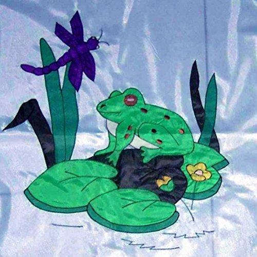 (Satellite Dish Cover Wrap - Frog Design)