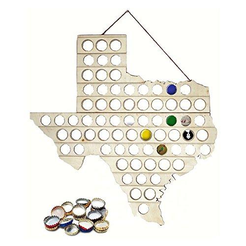 - Mark Feldstein Beer Bottle Cap Map Texas