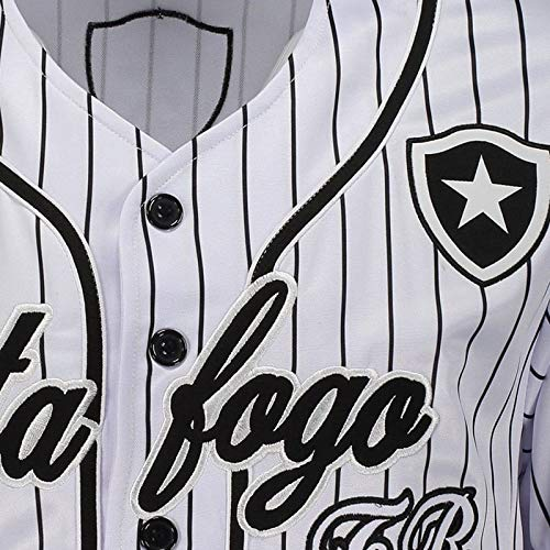 Camisa Baseball Botafogo Branca  Amazon.com.br  Esportes e Aventura 967a64e3a40b2