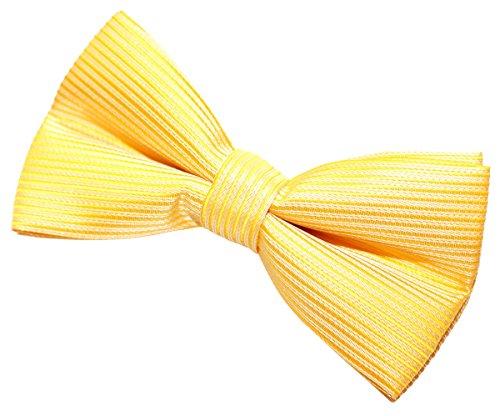 (Retreez Stripe Textured Woven Pre-tied Bow Tie (Width: 5