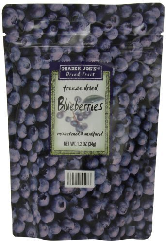 Trader Joes Blueberries Unsweetened Unsulfured