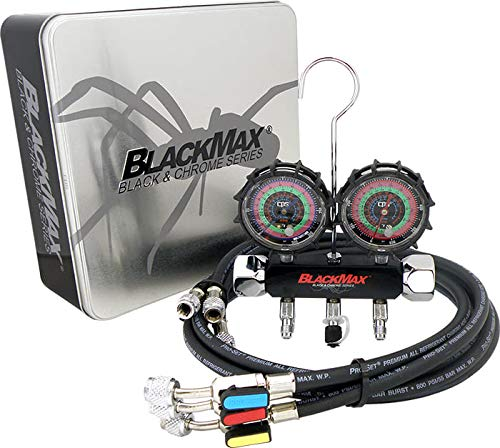 CPS BlackMax MBH4P5EZ 2V Manifold R-134A, 22, 404A, for sale  Delivered anywhere in USA