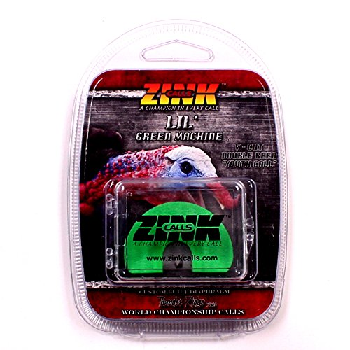 Zink Calls Lil' Green Machine Youth Series Turkey Mouth Call