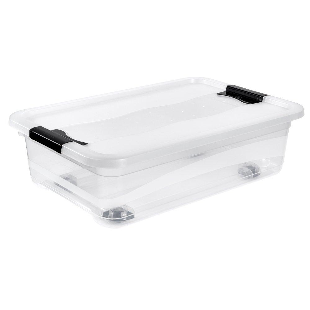 OKT 2053475 Boîte de Cristal Plastique Vert Transparent 28 L 10429278000