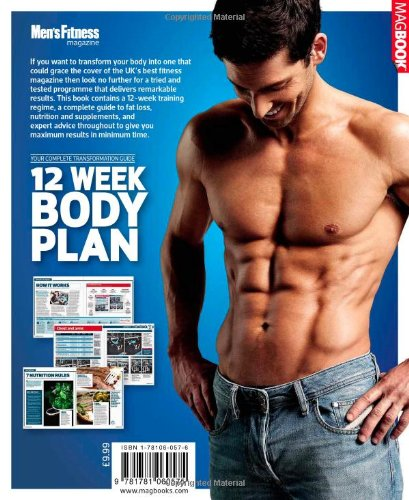 mens fitness 12 week body plan nick mitchell joe warner mens fitness 8601404239137 amazoncom books
