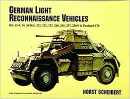 [German Light Reconnaissance Vehicles] (By: Horst Scheibert) [published: July, 2007]