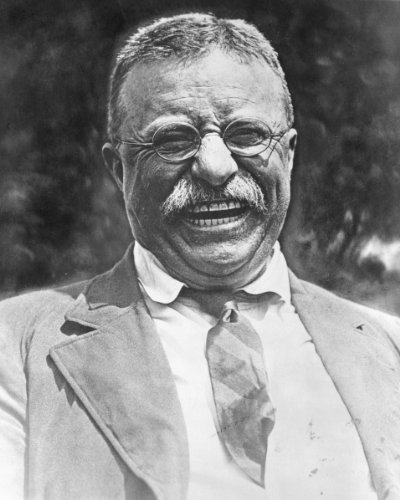 New 8x10 Photo: A Laughing Theodore - Teddy - Roosevelt